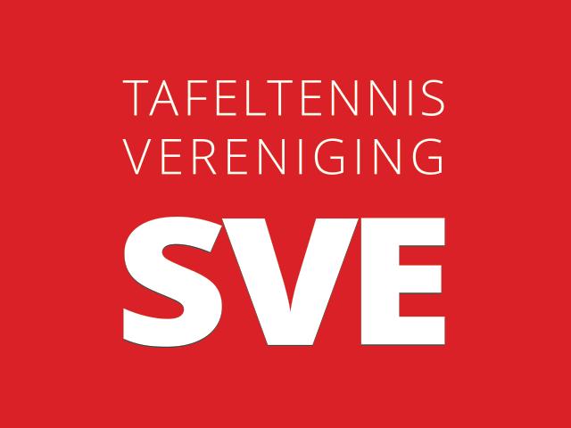 Logo van tafeltennisvereniging SVE