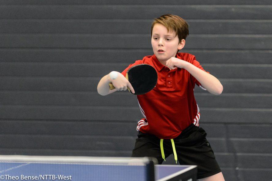 Julius in actie op A-ranglijst toernooi Den Haag 2018